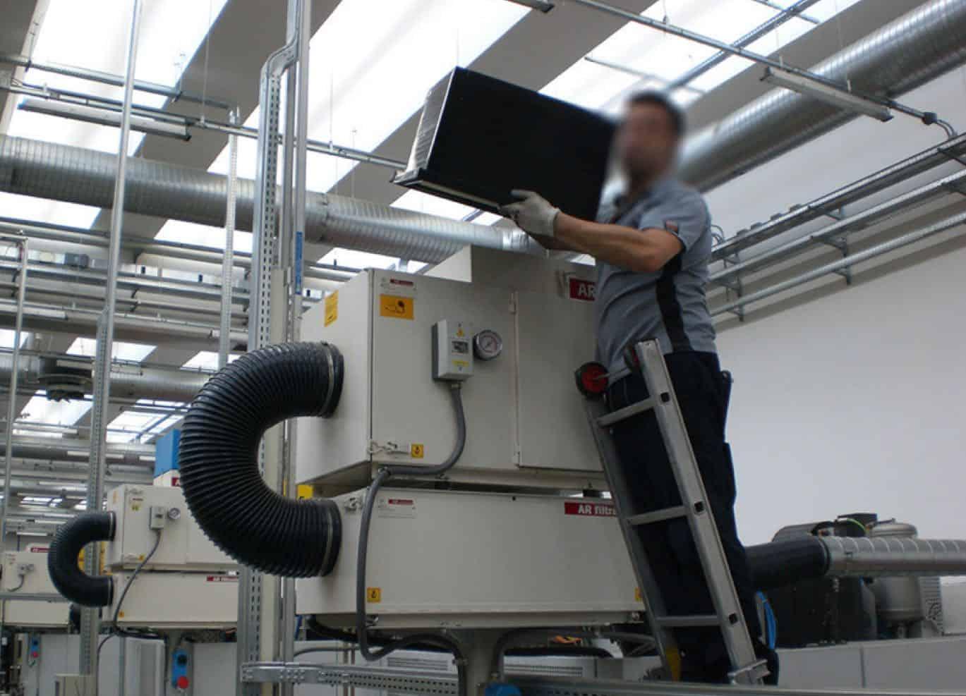 AR Filtrazioni Manutenzione Impianti